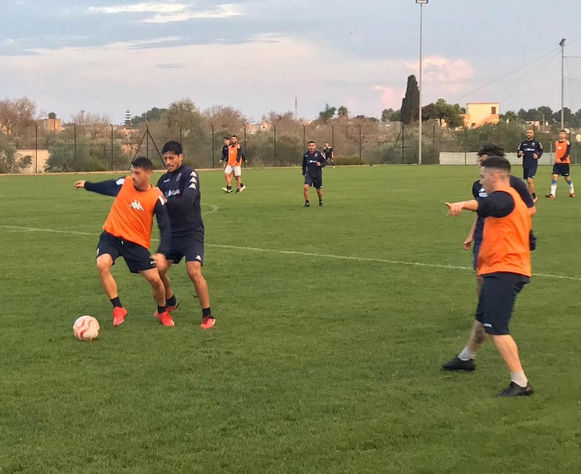 Nove gol nel test con l'Otranto