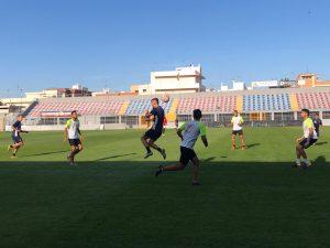 Test con l'Ugento: 5 gol per i rossazzurri