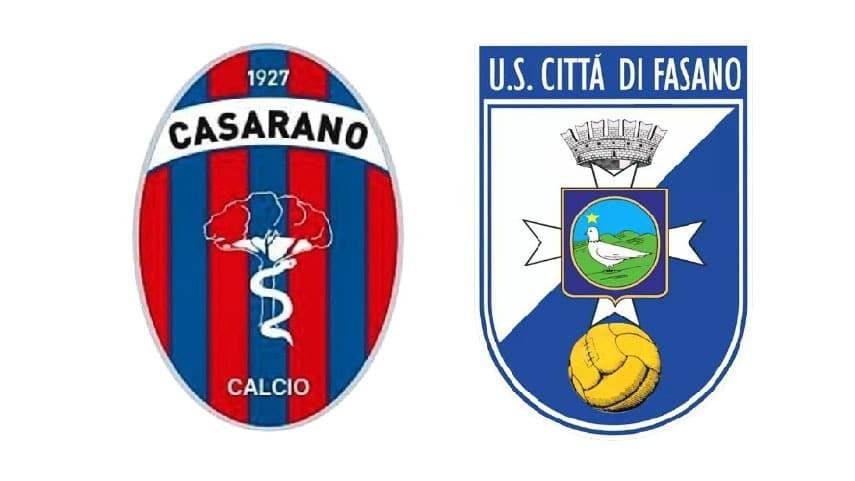 JUNIORES: Fasano-Casarano 3-3